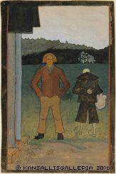 Kansallisgalleria - Taidekokoelmat - Simberg, Hugo