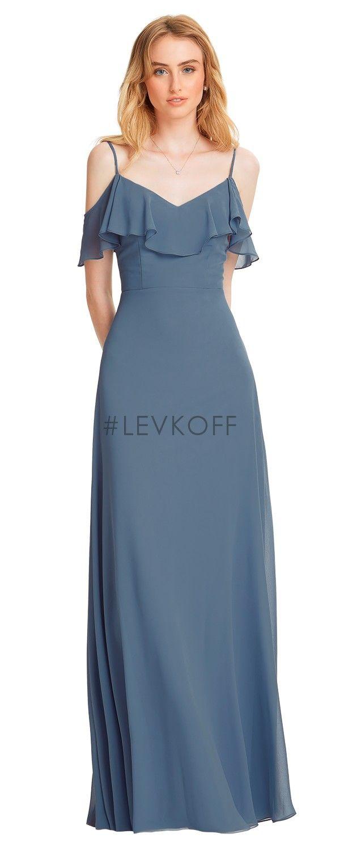 LEVKOFF Bridesmaid Dress Style 7054 Abiti Da Damigella D onore A Prezzi  Accessibili 816e3f44781b