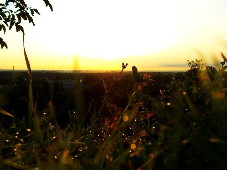 reggeli séta - Dunaújváros, Felső-Dunapart