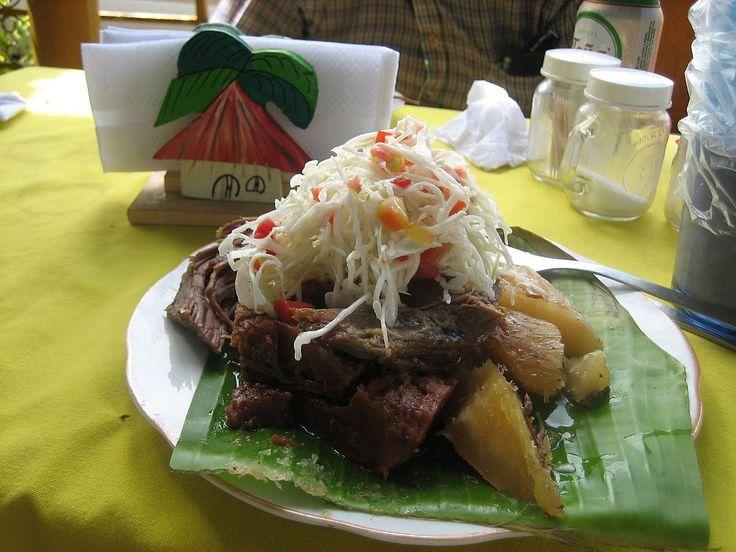 El baho es una comida típica de Nicaragua. ◆Nicaragua - Wikipedia http://es.wikipedia.org/wiki/Nicaragua #Nicaragua