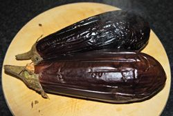 Recept voor Griekse auberginesalade (Melizanosalata – mezedes)