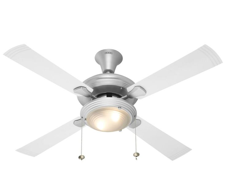 Usha Fontana One 1270mm Ceiling Fan (Steel with White Blades): Amazon.in: Home & Kitchen