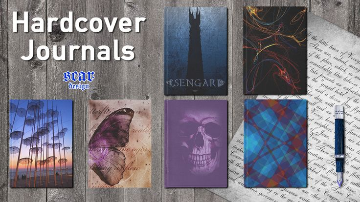 Hardcover Journals by Scar Design #journal #diary #giftsforher #giftsforhim #artistsjournal #writersjournal #notepad #buyjournal #isengard #butterflyjournal #writinggifts #sketch #sketchingnotebook #gothicnotebook #gothicjournal #gothicgifts #abstract #coolgifts #redbubble #scardesign