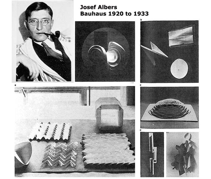 Bauhaus Josef Albers Paper Google Search Thesis