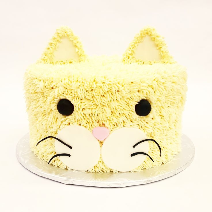 Prrrow kitty cat cake!