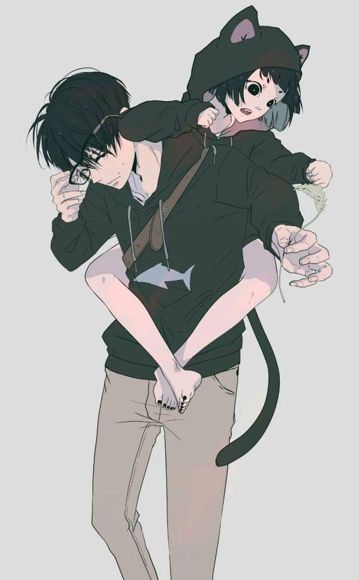 Anime Couple Anime Para Tyan Kun Tyan Kun Illyustracii Art