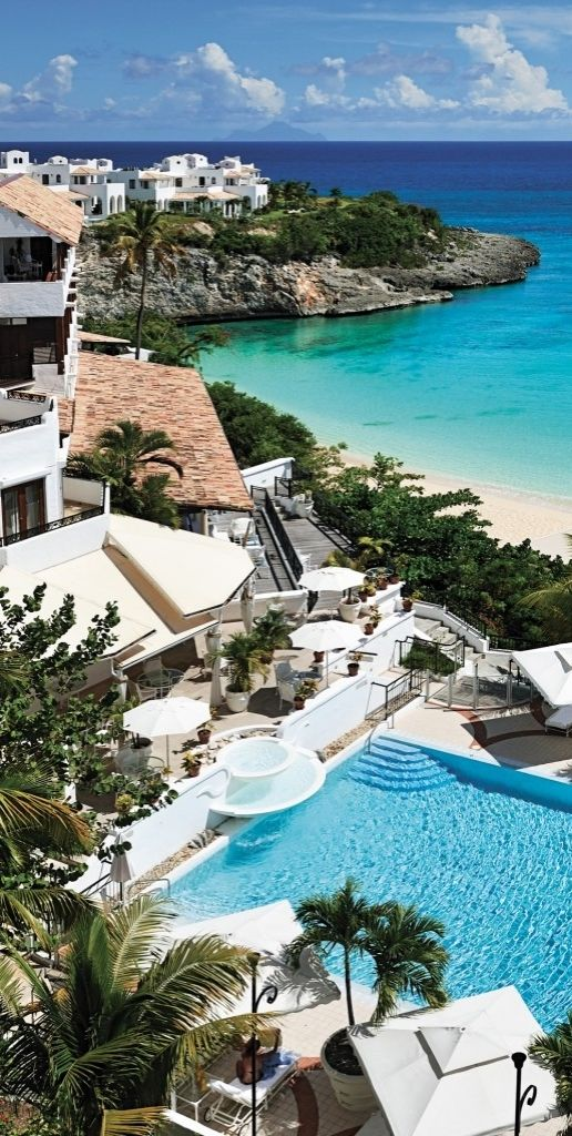 A world class private beach, complete with butler service