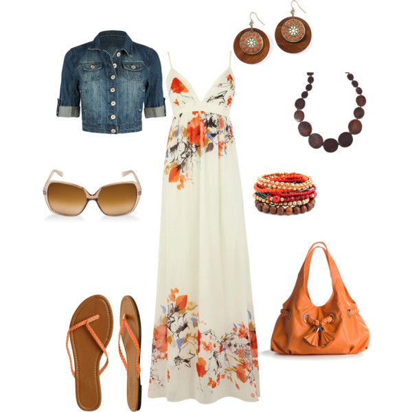 """orange"" by cami-woods-aley on Polyvore"