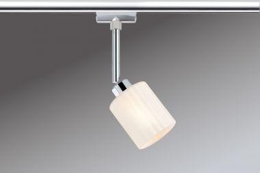 PAULMANN 951.89 URail, LED-Spot, Zyli 230V, Chrom / Opal
