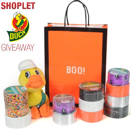 Our weekly giveaway for this week is sponsored by Duck Tape! Click on the link to read more! Brought to you by Shoplet.com - Everything for your business
