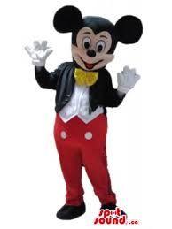 Resultado de imagen para trajes de mickey mouse