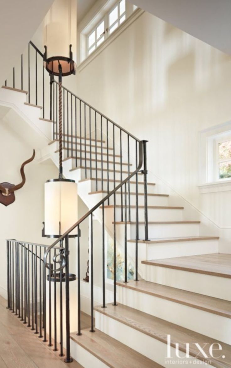 25 Benefits Pf Stair Lights Outdoor: 25+ Best Ideas About Iron Staircase On Pinterest