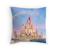 Walt Disney World Castle Throw Pillow