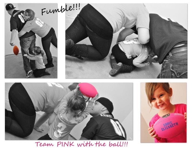 Gender reveal... Football style-- my friends' gender reveal pictures!!