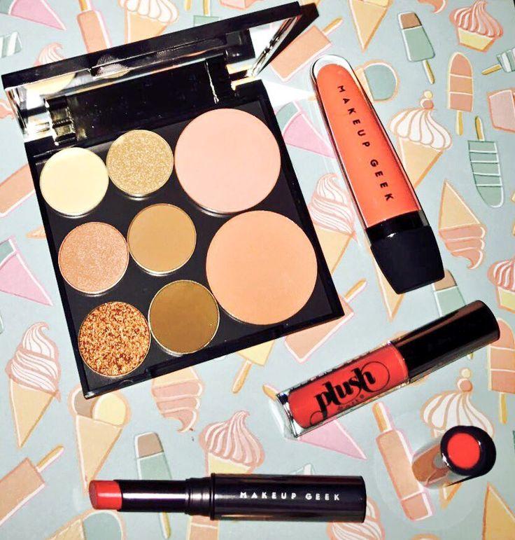 Peach makeup from Make up geek
