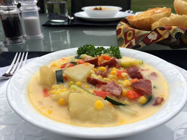 Mennonite Girls Can Cook: Harvest Corn Chowder ~ Flashback Friday