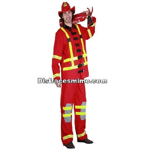 Ml Bombero Adulto Talla Que Incluye El Disfraz Hombre En De wY5SqUC