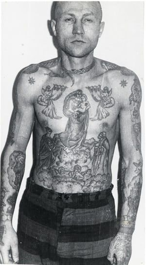 Russian Criminal Tattoo Police Files