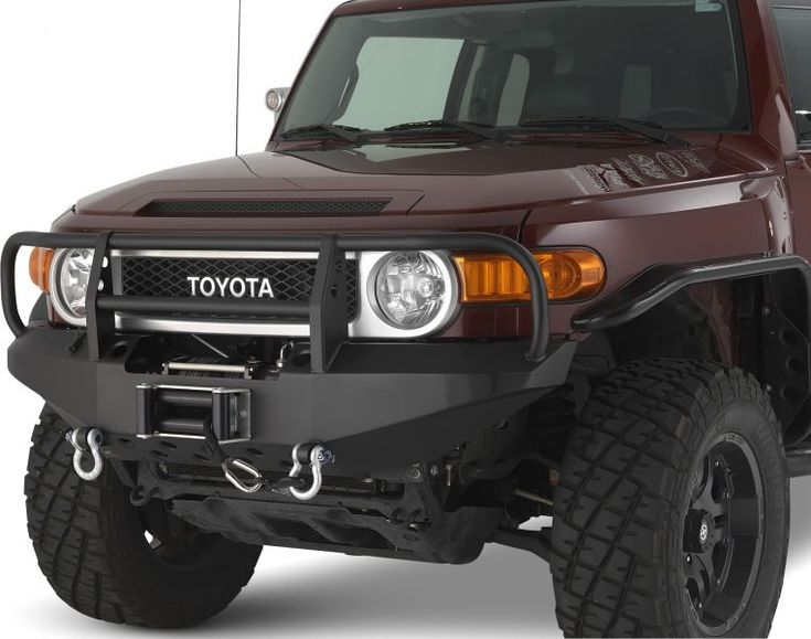 Warrior Products FJ Cruiser Winch bumper with Brush Guard [3530] - $776.99 : Pure FJ Cruiser Accessories, Parts and Accessories for your Toyota FJ Cruiser