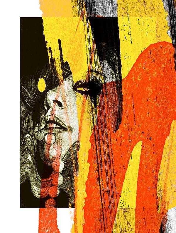 Dwayne Bell & Lucy MacLeod: Convergence –more (lifestyle) images @ http://www.juxtapoz.com/Illustration/dwayne-bell-a-lucy-macleod-convergence –Lucy MacLeod, Dwayne Bell, The Outhouse, Illustration, Scottland: Art Crafts, Graphics Art, Lucy Macleod, Graphics Inspiration, Art Example, Dwayne Belle, Art Education, Art Ed Gcse Distortion, Beautiful Art