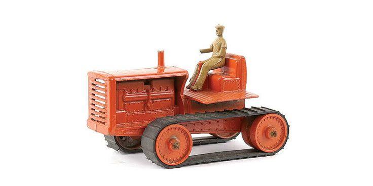 Lesney Caterpillar crawler tractor