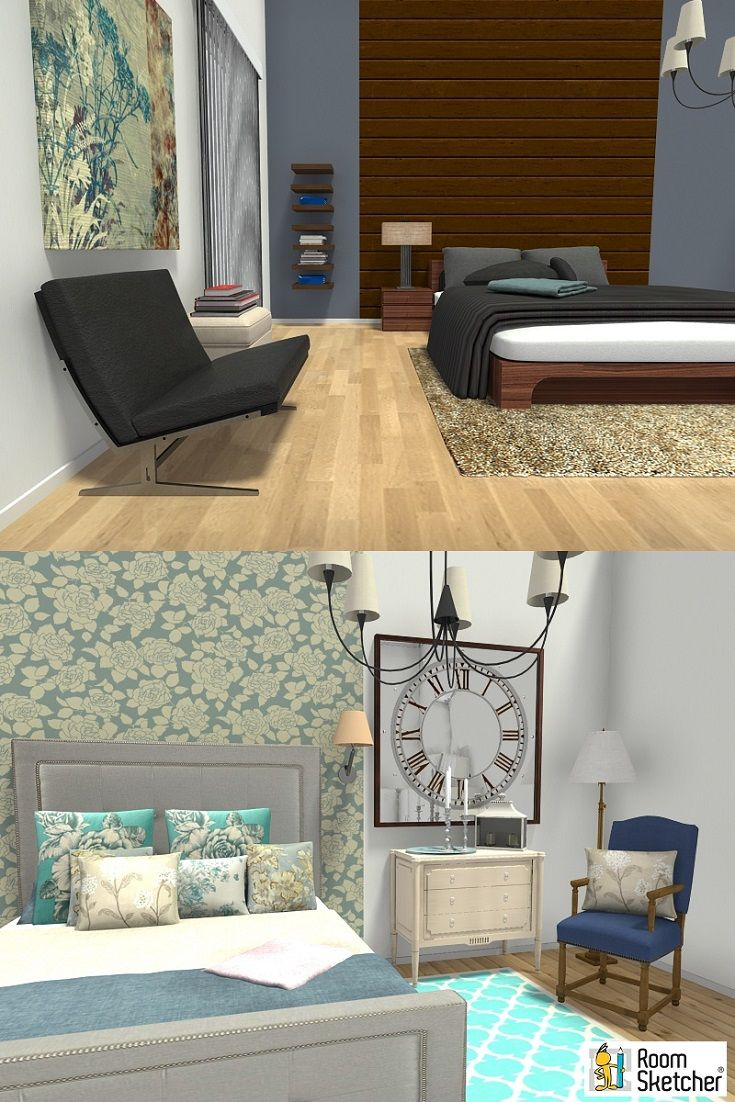 Whether Itu0027s Modern And Minimal Or Traditional And Romantic, RoomSketcher  Home Designer Lets You Visualize. Design StylesBeautiful BedroomsMinimal