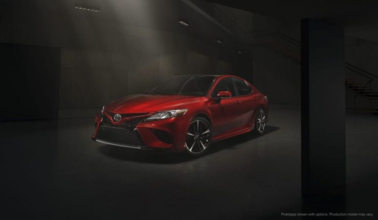 Best Sports Cars Illustration Description Toyota Camry XSE - Best midsize sports car