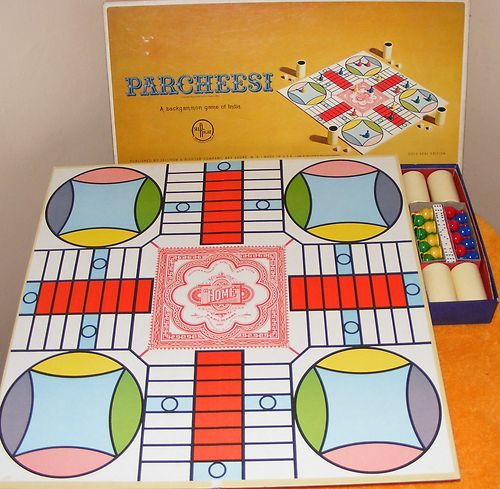 Vintage 1964 Parcheesi Board Game Complete Nice Condition $25