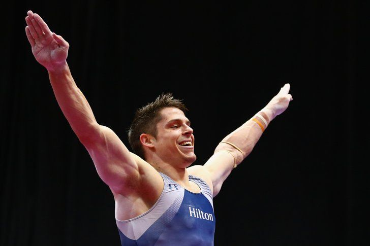 Pin for Later: And Now, a Hefty Dose of Hot Olympic Athletes Chris Brooks  Country: USA Sport: Gymnastics Age: 29