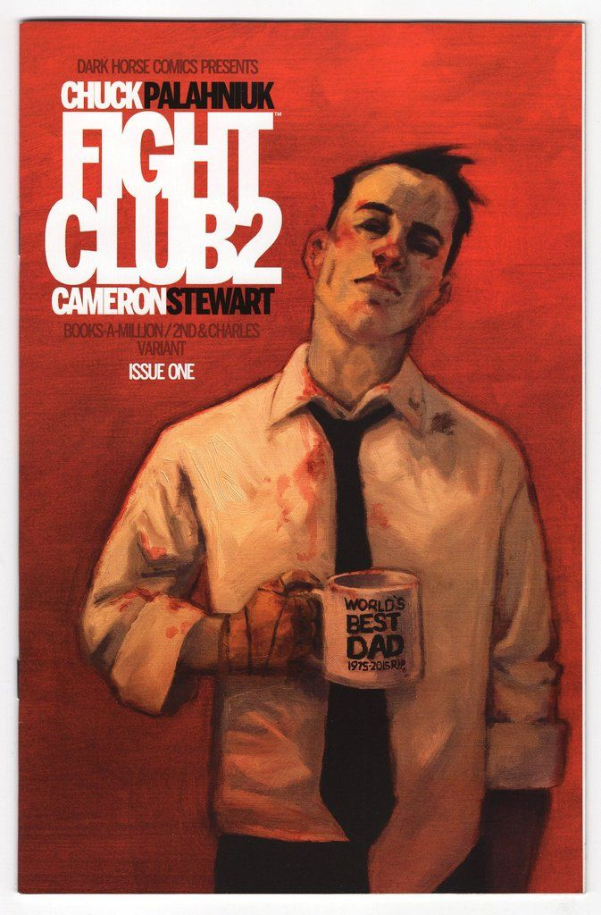 Fight Club 2 1 Chip Zdarsky Books A Million Variant Cover 2015
