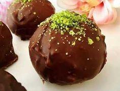 Çikolata Kaplı Un Helvası Tarifi - Resimli Kolay Yemek Tarifleri