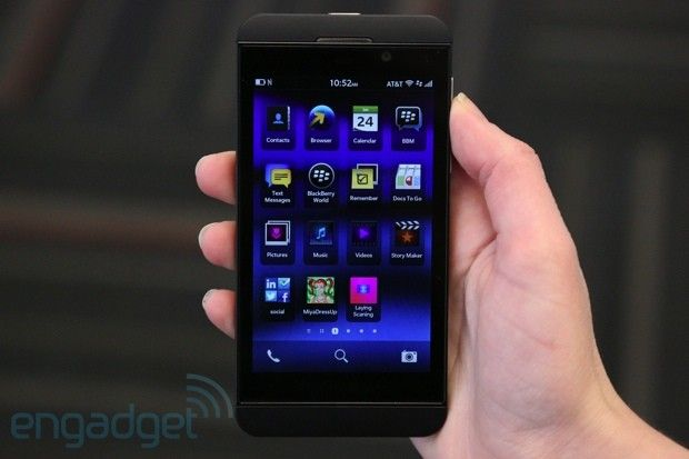 The PlayBook showed us what was possible with a clean-sheet approach to a BlackBerry OS, and we wanted that on a phone. Now, two years after the release of that tablet, here we have it. It's BlackBerry 10. It's a wholly new experience...