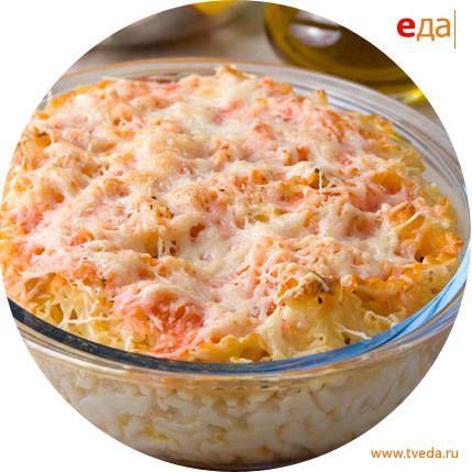 Рецепт запеченные макароны с сыром