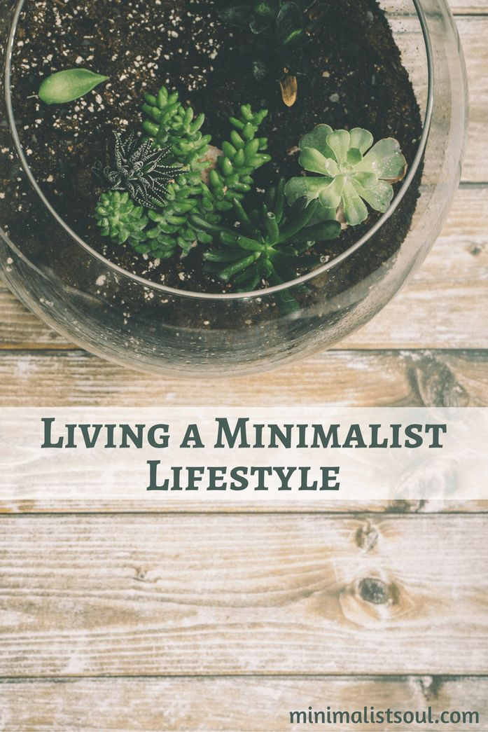 How to live more minimally