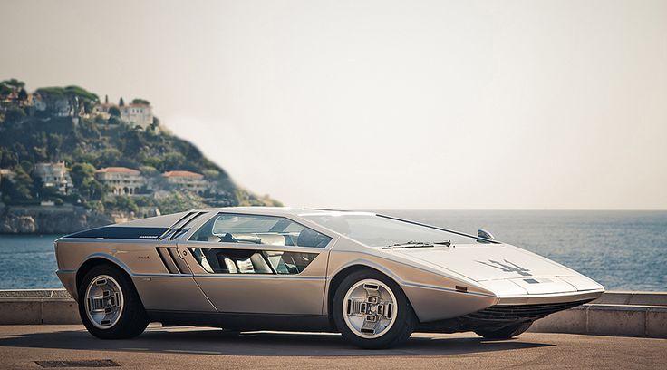 '72 Maserati Boomerang Italdesign