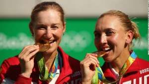 Why Olympians bite their medals - CNN