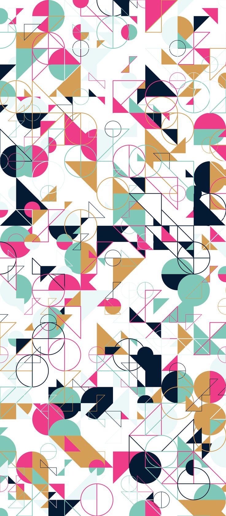 Russfussuk 'GoodGracious' M8A #pattern #patterndesign #patternprint #circles #shapes #lines #generative #geometria #cadernos #padrões #russfussuk