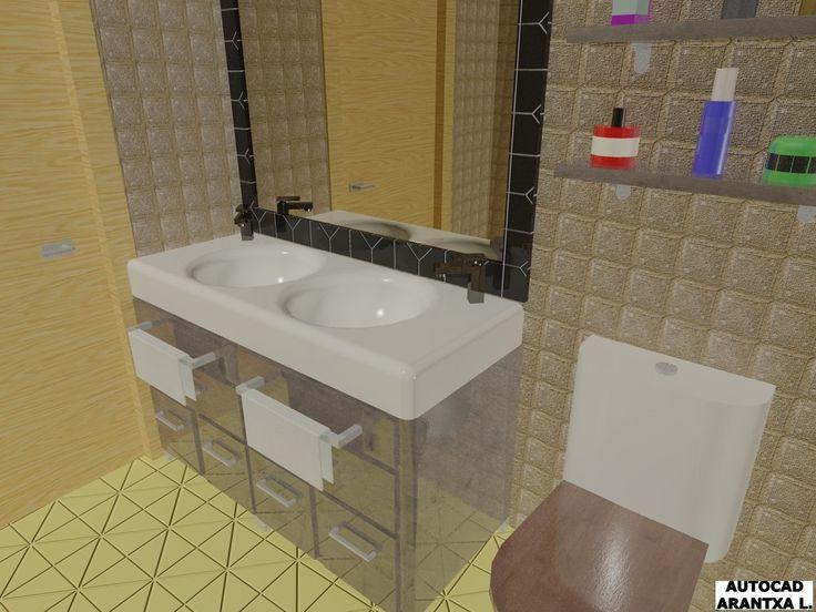 Otra vista del baño