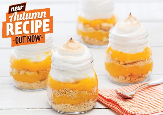 Want to satisfy your sweet tooth? Try our Lemon Meringue Pies, they're absolutely irresistible!
