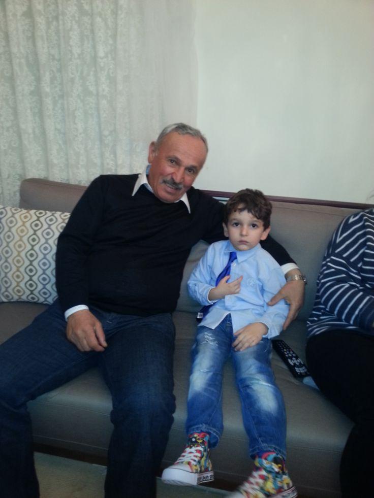 Mert & grandfather