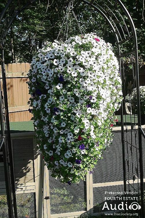 Spectacular floral decorations brought the entire yard to life. http://www.discjockey.org/real-chicago-wedding-sept-26-2015