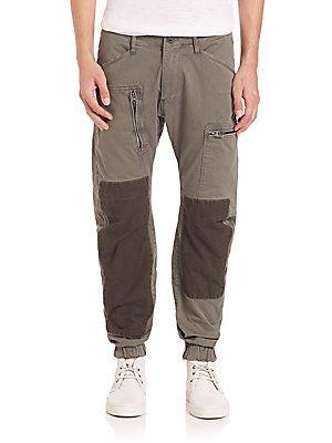 G-Star RAW Powel 3D Tapered Cuffed Trousers