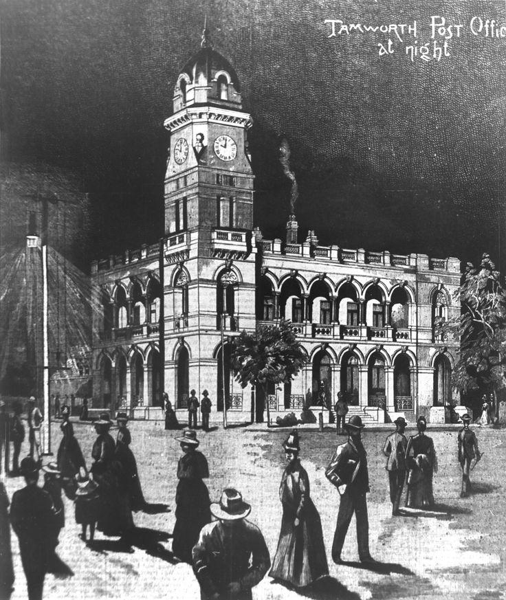 Night life in Tamworth, 1888 style!