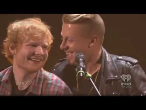 """Ed Sheeran And Macklemore Performing """"Same Love"""" Is The Duet You Didn't Know You Needed 