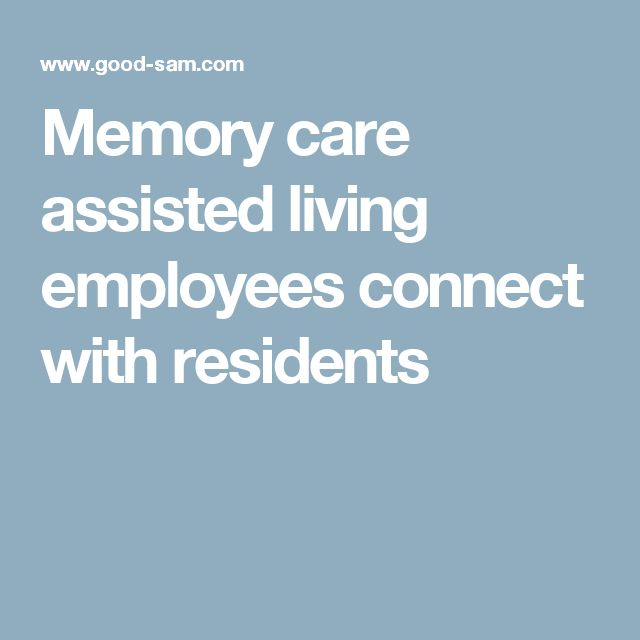 Memory care assisted living employees connect with residents