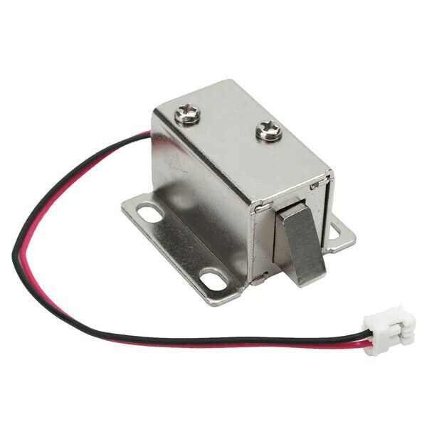 Electric Lock Catch Release Assembly Solenoid For Door Gate Drawer 12v 0 34a Electric Lock Catch Release Asse Electronic Lock Access Control Electric Lock