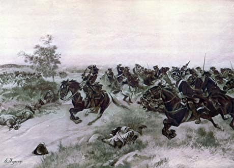 Spanish Succession : Battle of Blenheim - Duke of Marlborough