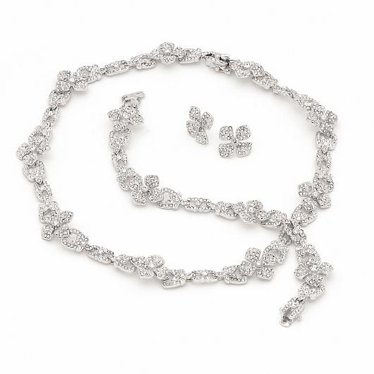 Mille Fleurs Bridal & Event Necklace