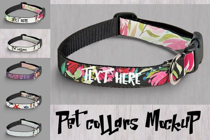 Mockup Pet Collars Pet Mockup Download Here Http 1 Envato Market C 97450 298927 4662 U Https Elements Envato Com Mockup P Pet Collars Mockup Collars