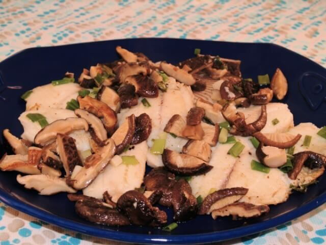 zesty tilapia with mushrooms made with dried porcini mushrooms butter ...